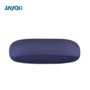 High Quality Blue Felt Foldable Glasses Case