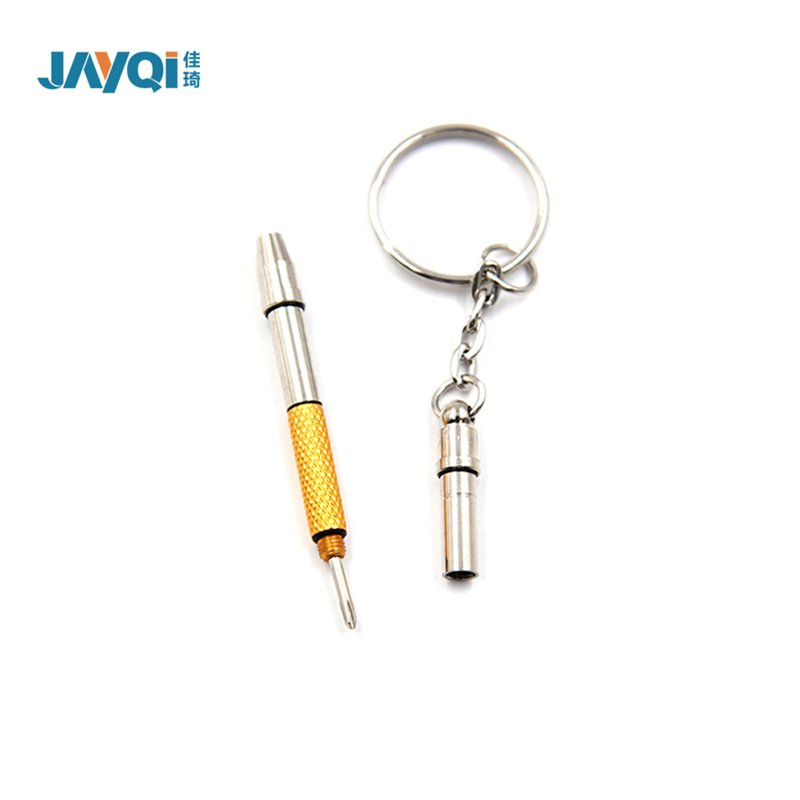 3 IN 1 Use Metal Eyeglasses Screwdriver